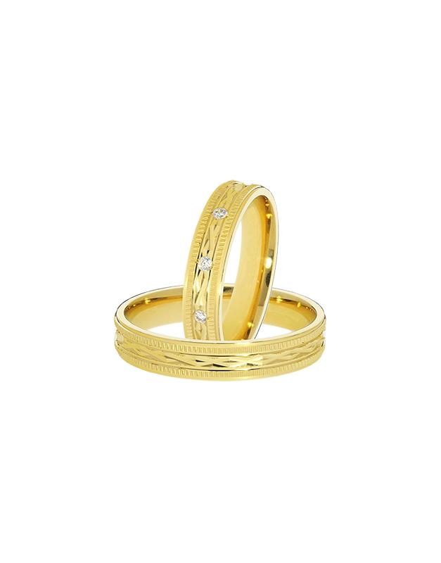 verighete Duette Romantic GSL5107-Y-E / GSL5107-Y-CZ