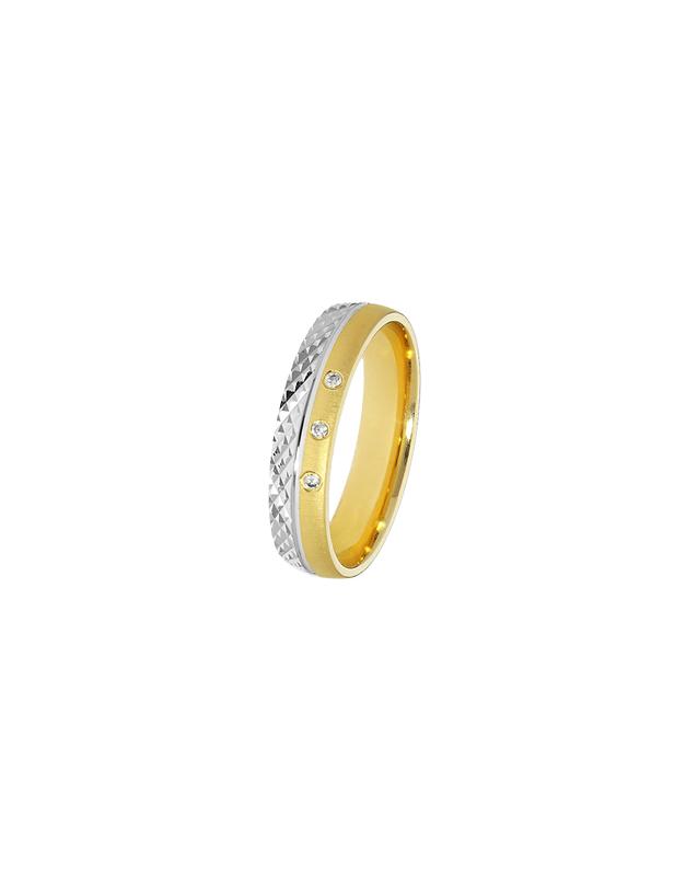 verighete Duette Romantic 61038-WY-E / 61038-WY-CZ