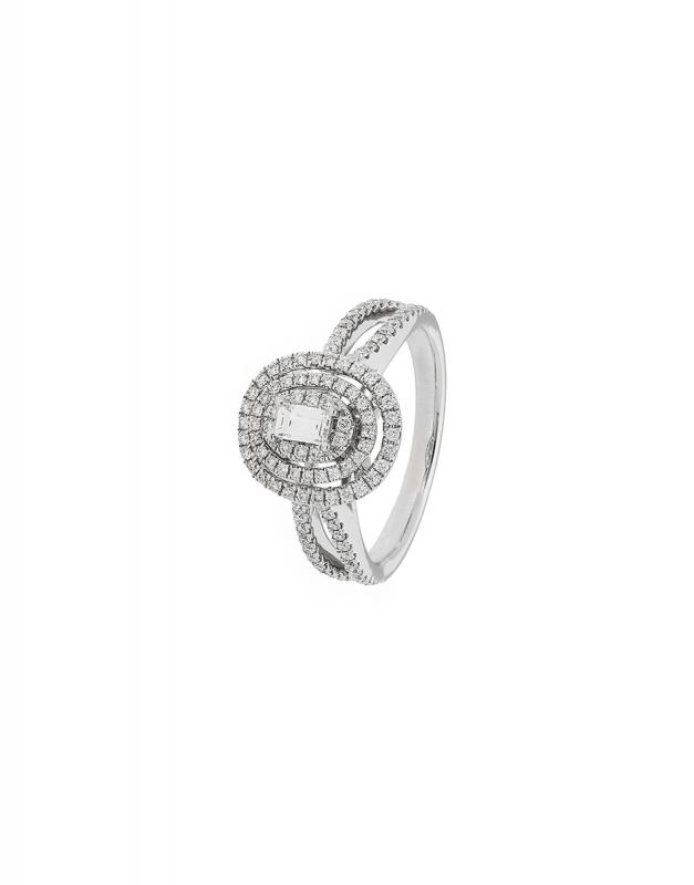 inel de logodna Bijuterie aur R3516-RDBG-W