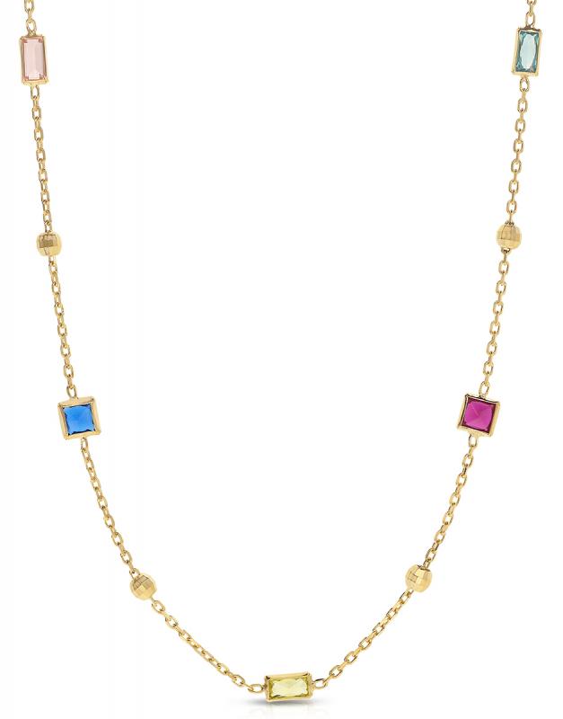 colier Bijuterie Aur Colors of Life NK11062Y-1-GB
