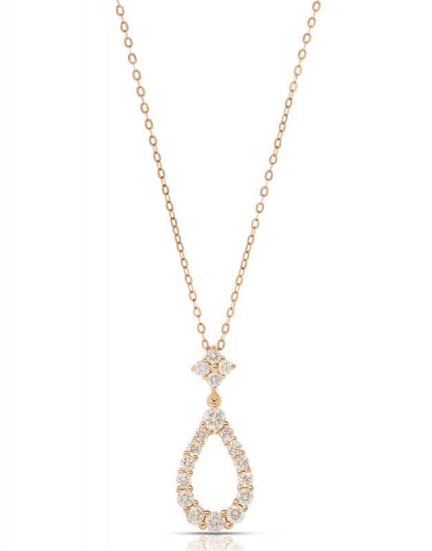 colier Bijuterie Aur Diamonds ND4122-P