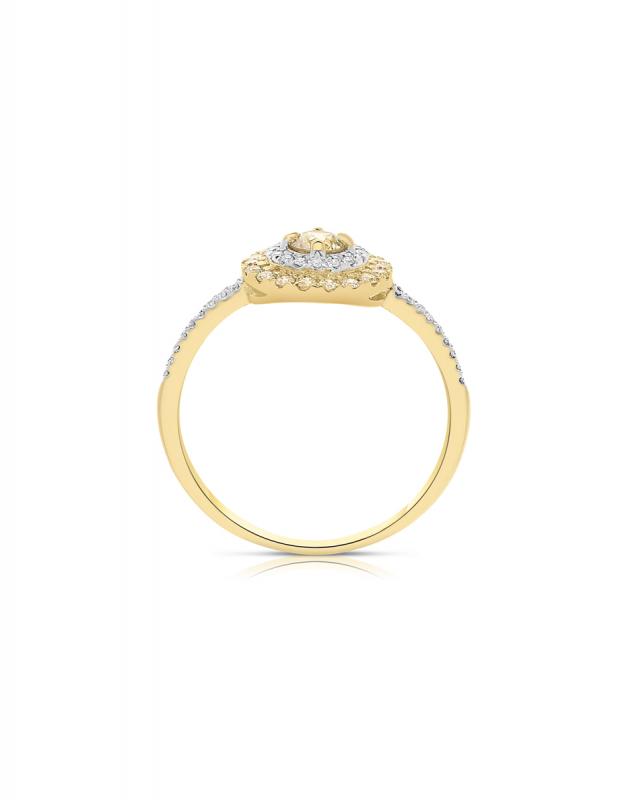 inel de logodna Vida Colored Diamonds 11670Q-YD8YT