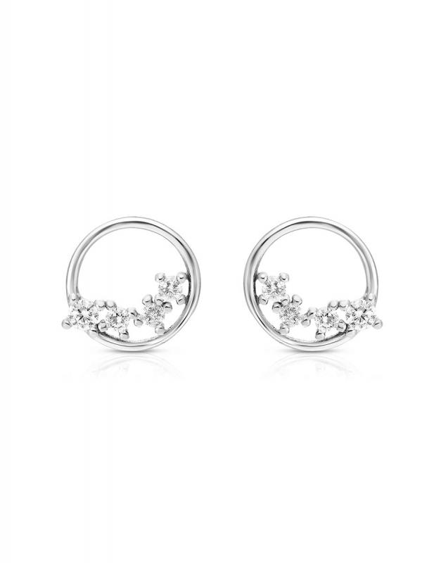 cercei Bijuterie Argint Fashion GS9283-EG-W