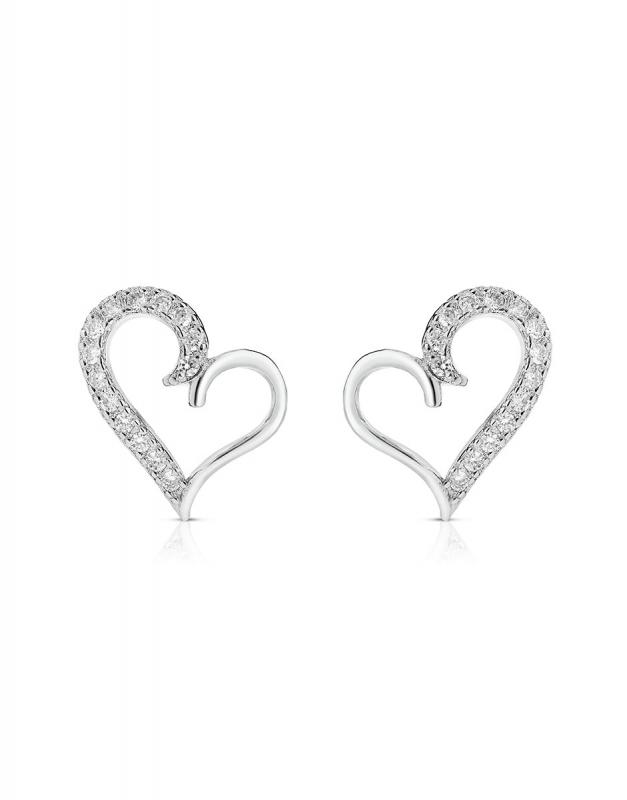 cercei Bijuterie Argint Love GS9088-EG-W