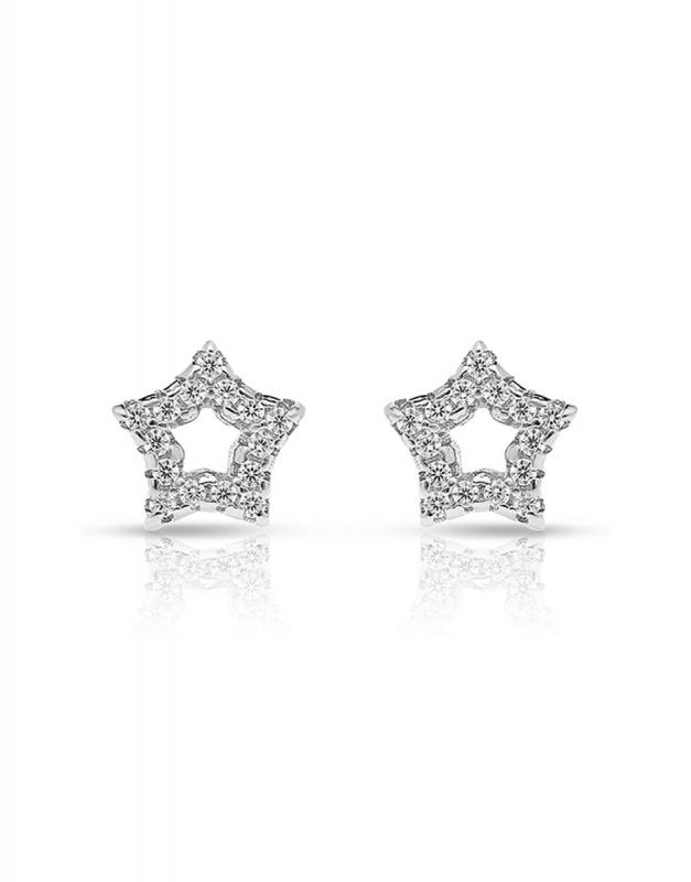 cercei Bijuterie Argint Shapes GS8491-EG-W
