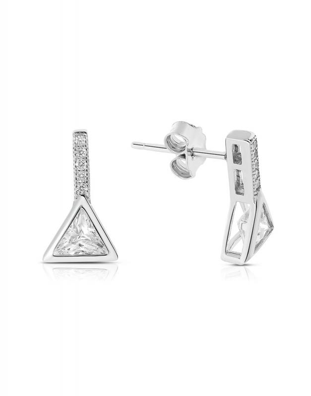 cercei Bijuterie Argint Shapes TS0093-EG-W