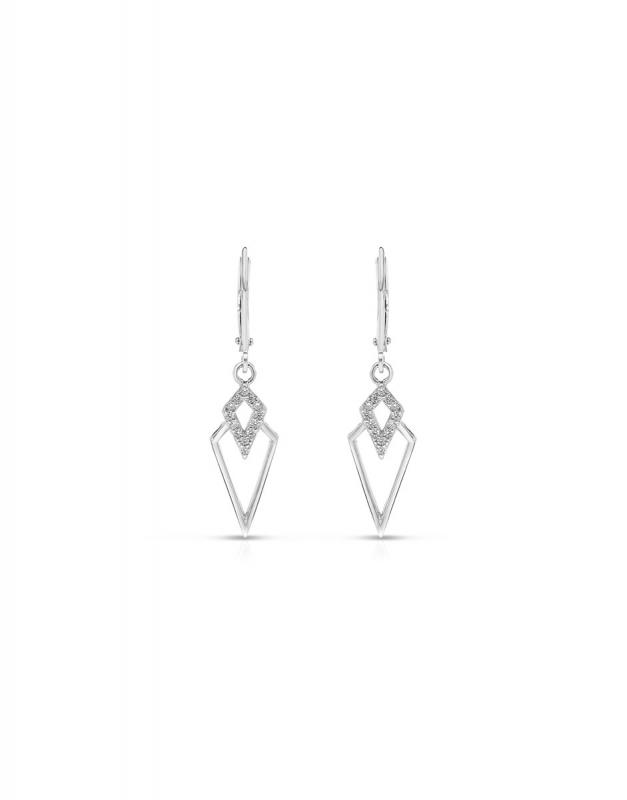 cercei Bijuterie Argint Fashion GS9239-EG-W
