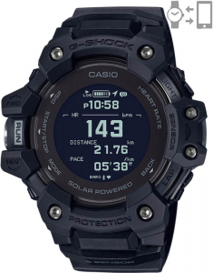 Casio G-Shock G-Squad Smart Watch Heart Rate Monitor GBD-H1000-1ER