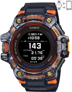 Casio G-Shock G-Squad Smart Watch Heart Rate Monitor GBD-H1000-1A4ER