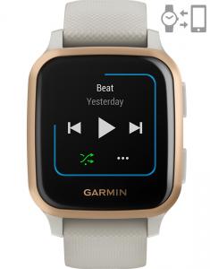 Garmin Venu® Sq – Music Edition Light Sand Rose Gold 010-02426-11