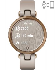 Garmin Lily™ Rose Gold Light Sand 010-02384-11