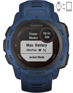 Garmin Instinct® Solar – Tidal Blue 010-02293-01