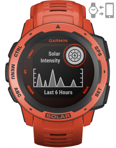 Garmin Instinct® Solar Flame Red 010-02293-20